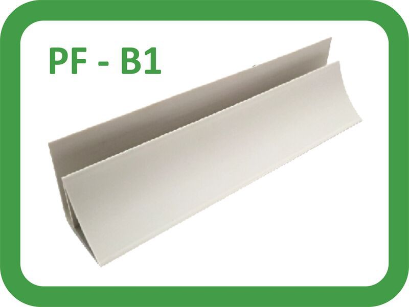 lis plafon pvc warna putih metalik